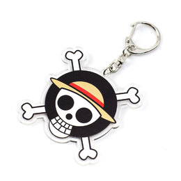 Двухсторонний брелок Mugiwara Jolly Roger Symbol Ver. / One Piece