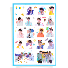 Наклейки TXT Group Set A Ver. / TXT