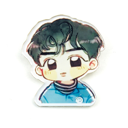 Значок EXO SUHO Lucky One Chibi Ver. / EXO