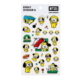 Наклейки BT21 Chimmy (JIMIN) White Ver. / BTS