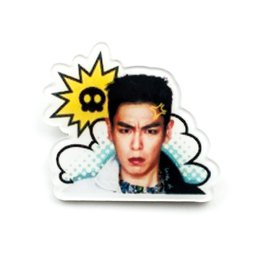 Значок TOP KakaoTalk Stickers B Ver. / BIG BANG