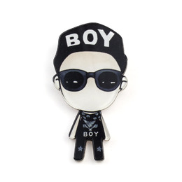Значок G-DRAGON Chibi Alive  Ver. / BIG BANG