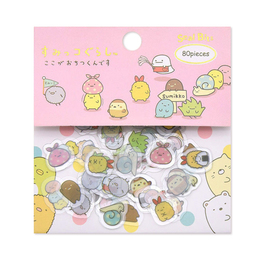 Набор наклеек Sumikko Gurashi Mini Package B Ver.