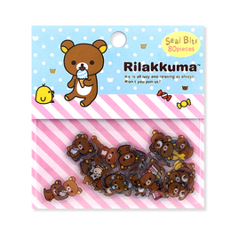 Набор наклеек Rilakkuma Mini Package A Ver.
