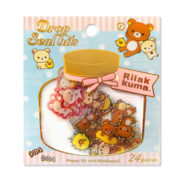 Набор наклеек Rilakkuma Mini Package Jar B Ver.