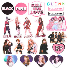 Набор наклеек BLACKPINK Kill This Love A Ver. / BLACKPINK