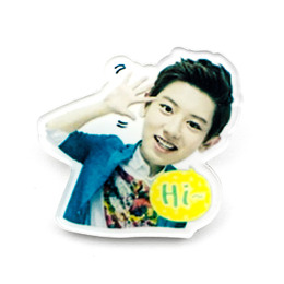 Значок EXO CHANYEOL LINE Stickers A Ver. / EXO