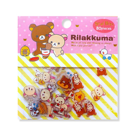 Набор наклеек Rilakkuma Mini Package B Ver.