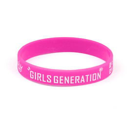 Силиконовый браслет Girls' Generation Name Purple Ver. / Girls' Generation
