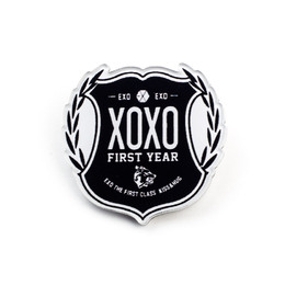 Значок EXO XOXO First Year Logotype Ver. / EXO