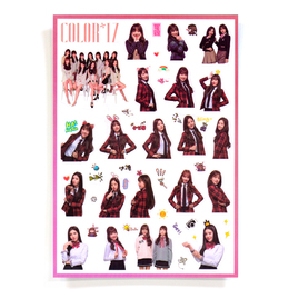 Наклейки IZ*ONE COLOR*IZ Group Set A Ver. / IZ*ONE