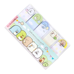 Набор стикеров Sumikko Gurashi Bookmark Yellow Ver.