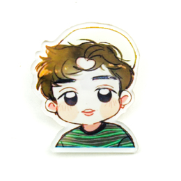 Значок EXO LAY Lucky One Chibi Ver. / EXO