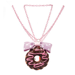 Подвеска Small Donut Bow Purple Ver.