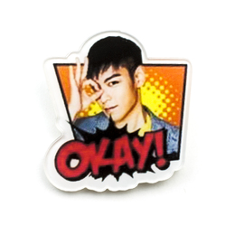 Значок TOP KakaoTalk Stickers A Ver. / BIG BANG