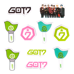 Набор наклеек GOT7 Group Set A Ver. / GOT7