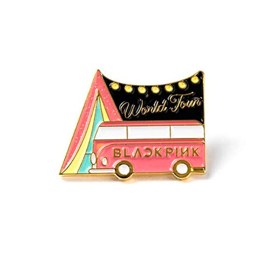 Значок BLACKPINK World Tour Bus Ver. / BLACKPINK
