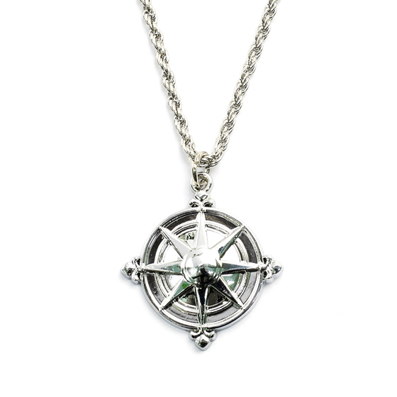 Кулон Compass Rose Silver A Ver. / D. Gray-Man