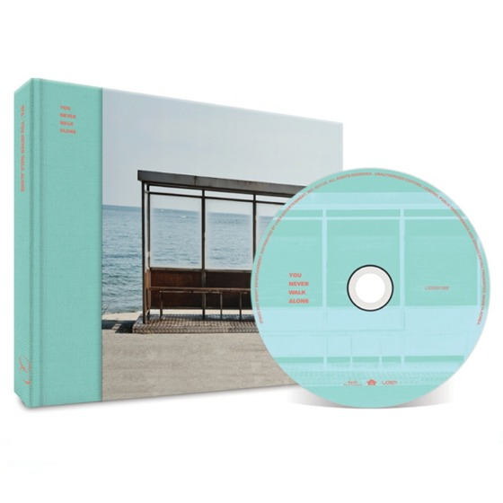 BTS 2nd repackage Album Wings: You Never Walk Alone (Left Ver.) / CD