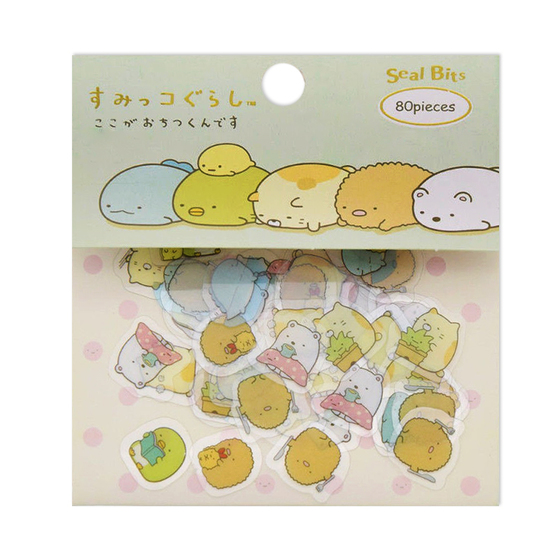 Набор наклеек Sumikko Gurashi Mini Package A Ver.