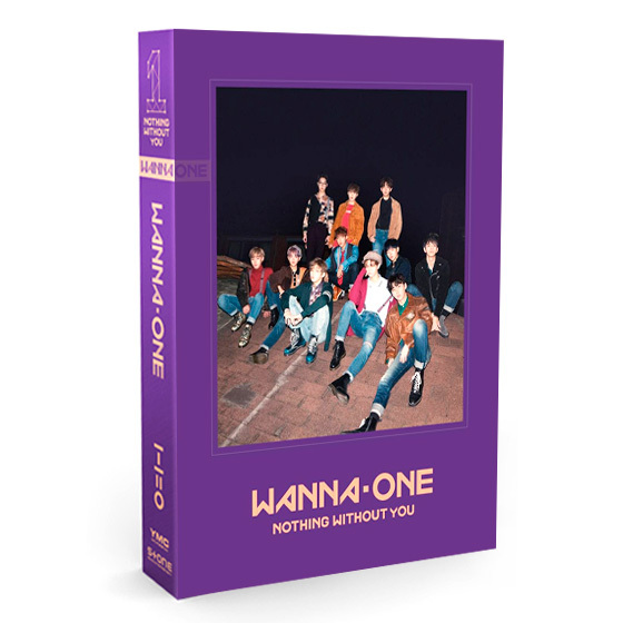 WANNA ONE repackage Mini Album To Be One: Nothing Without You (Wanna Ver.) / CD
