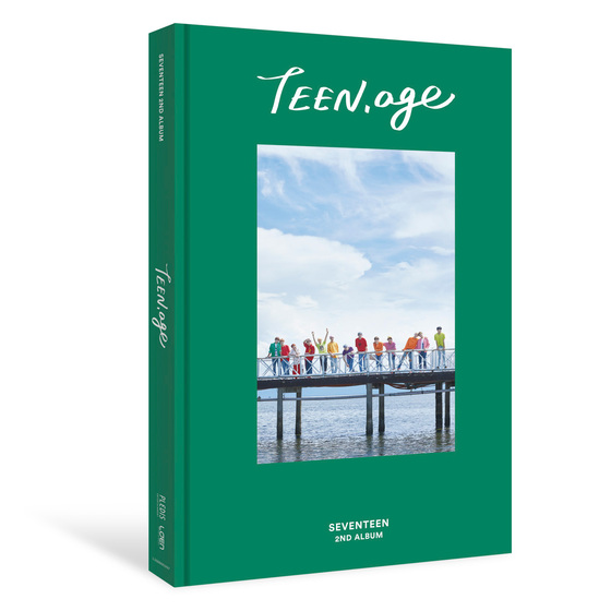 Seventeen 2nd Album: TEEN,AGE (Green Ver.) / CD