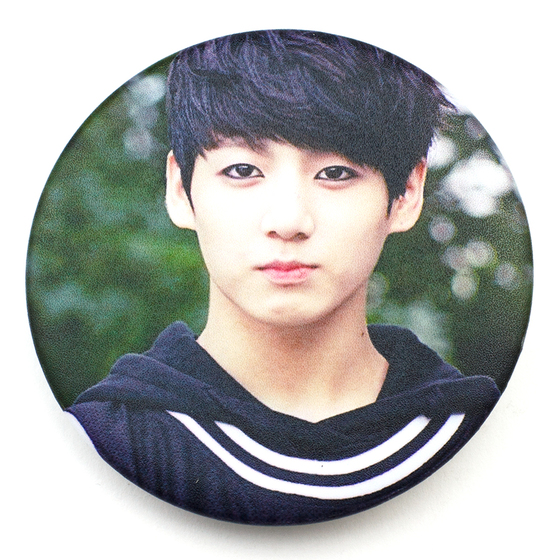 Значок BTS JUNGKOOK Fanmeeting A Ver. / BTS