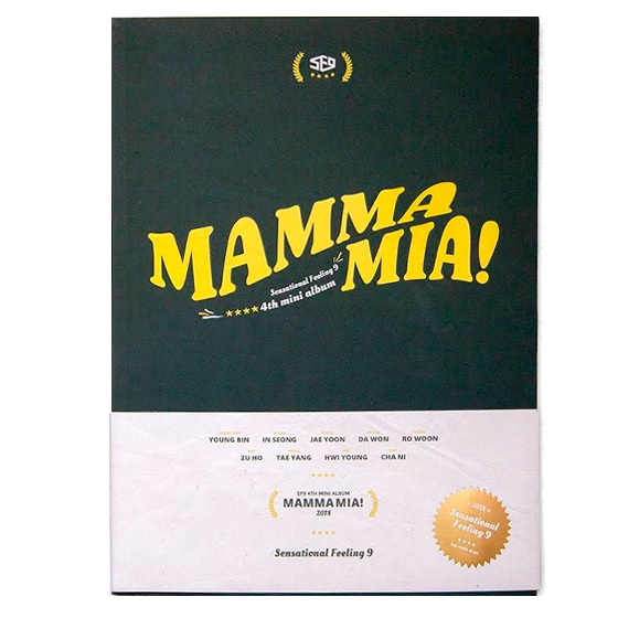SF9 4th Mini Album: Mamma Mia (Special Edition) / CD