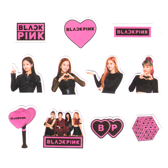 Набор наклеек BLACKPINK Group Set A Ver. / BLACKPINK