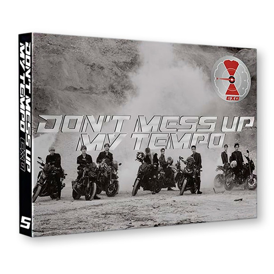 EXO 5th Album: Don`t Mess Up My Tempo (Andante Ver.) / CD
