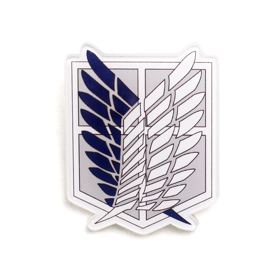 Значок Recon Corps Dark Blue Ver. / Shingeki no Kyojin