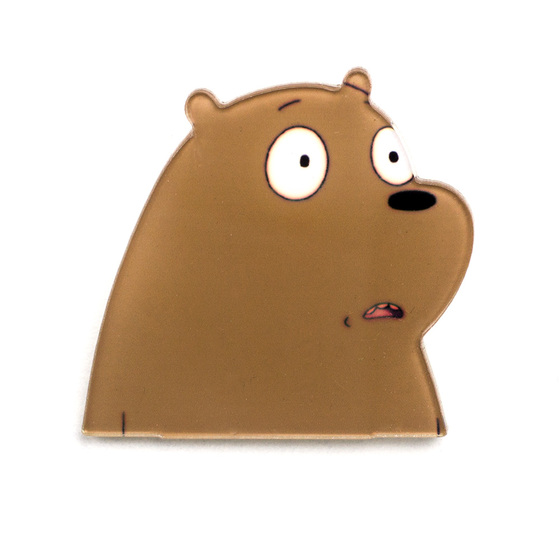 Значок We Bare Bears Grizzly A Ver.