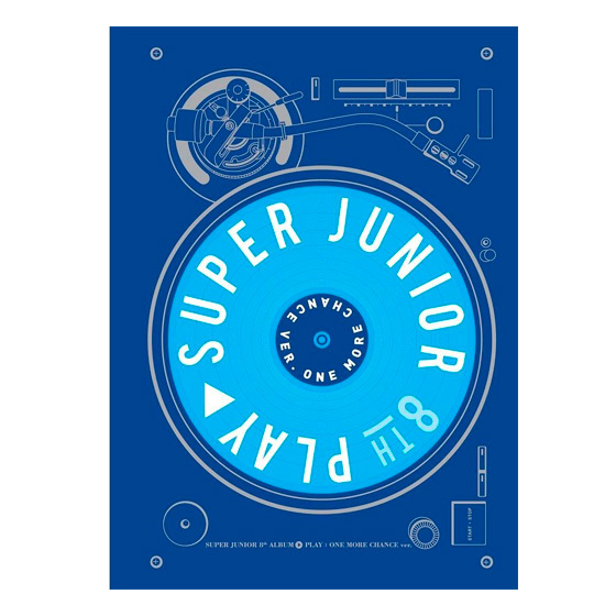 Super Junior 8th Album: PLAY (One More Chance Ver.) / CD