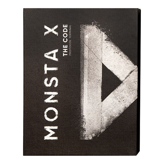 MONSTA X 5th Mini Album: THE CODE (Protocol Terminal Ver.) / CD