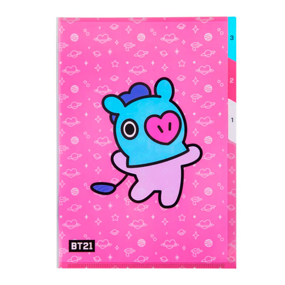 Папка-уголок BT21 Mang (J-HOPE) Ver. / BTS