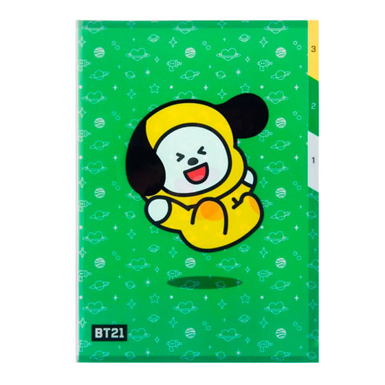 Папка-уголок BT21 Chimmy (JIMIN) Ver. / BTS