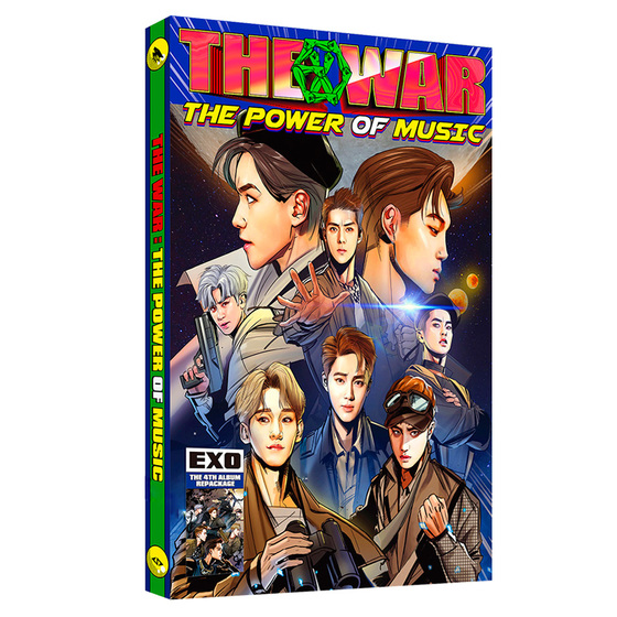 EXO 4th Album Repackage THE WAR: The Power of Music (Korean Ver.) / CD