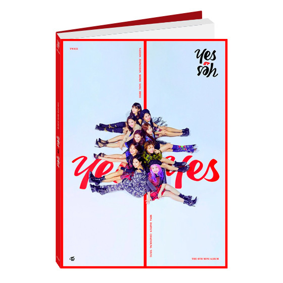 TWICE 6th Mini Album: YES or YES (C Ver.) / CD