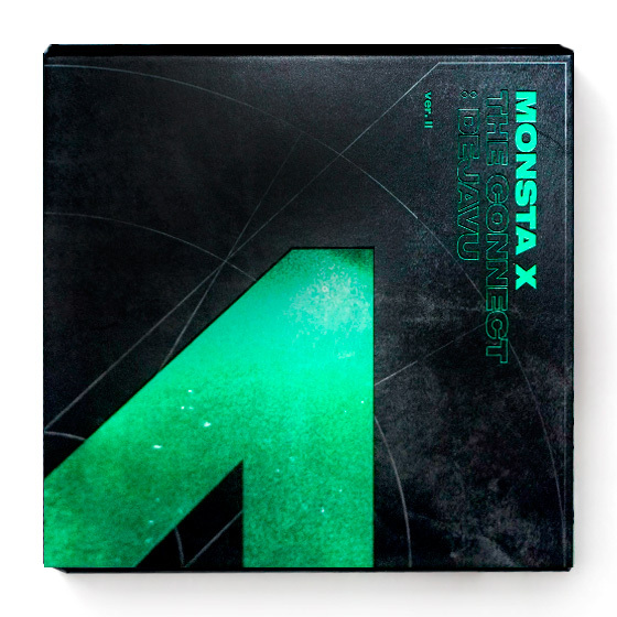 Monsta X 6th Mini Album: The Connect - Dejavu (II ver.) / CD
