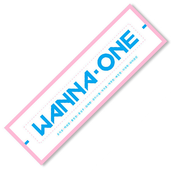 Концертный баннер Wanna One Logotype A Ver. / Wanna One