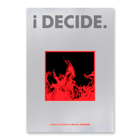 iKON 3rd Mini Album: i DECIDE (Red Ver.) / CD