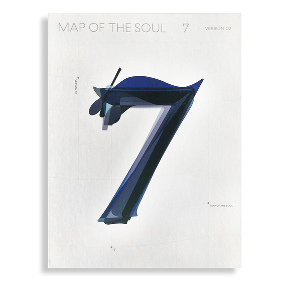 BTS 4th Album: Map Of The Soul - 7 (2 Ver.) / CD