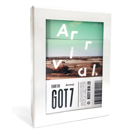 GOT7 6th Mini Album Flight Log: ARRIVAL (Ever Ver.) / CD
