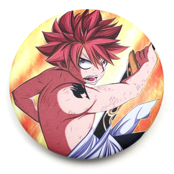 Значок Natsu Dragneel Сircle A Ver. / Fairy Tail