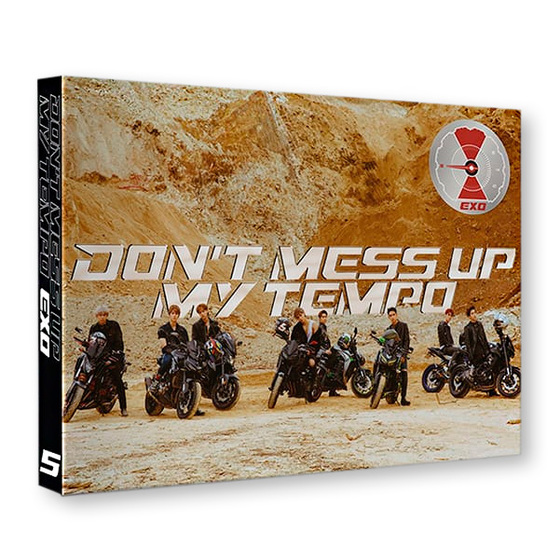 EXO 5th Album: Don`t Mess Up My Tempo (Moderato Ver.) / CD