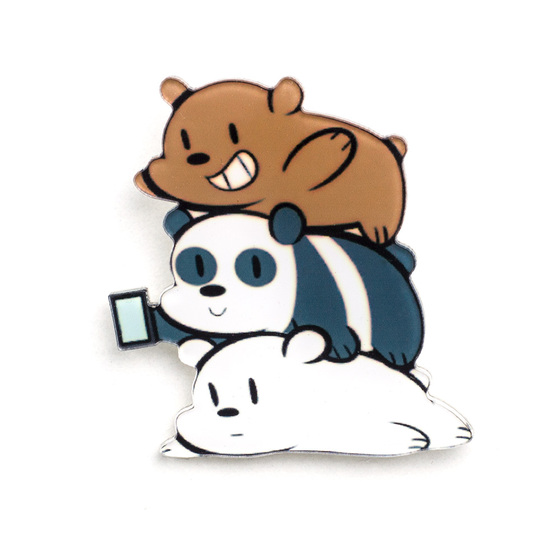 Значок We Bare Bears Together A Ver.