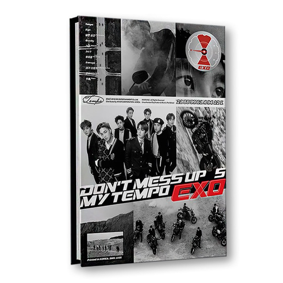 EXO 5th Album: Don`t Mess Up My Tempo (Allegro Ver.) / CD