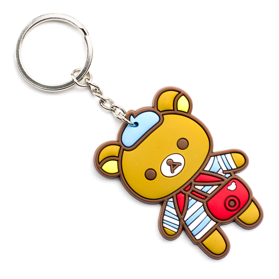 Брелок Rilakkuma Figure Travel Ver.
